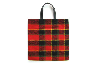 LP Tote Bag – RED Check